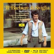 Gioacchino Rossini (1792-1868): Der Barbier von Sevilla (Deluxe-Ausgabe mit Blu-ray Audio), 2 CDs