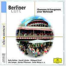 Berliner Luft - Chansons & Evergreens einer Weltstadt, CD
