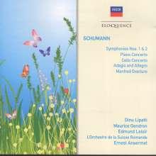 Robert Schumann (1810-1856): Symphonien Nr.1 & 2, 2 CDs
