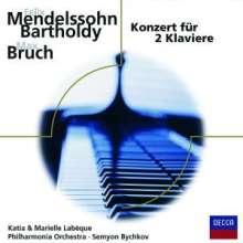 Max Bruch (1838-1920): Konzert für 2 Klaviere & Orchester op.88a, CD