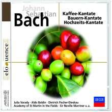 Johann Sebastian Bach (1685-1750): Kantaten BWV 202,211,212, CD