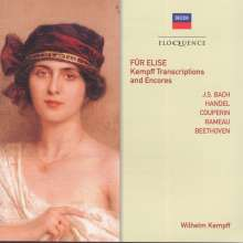 Wilhelm Kempff - Kempff Transcriptions and Encores, CD
