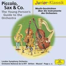 Piccolo,Sax & Co - The Young Person's Guide, CD