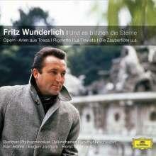 Fritz Wunderlich - Und es blitzten die Sterne, CD