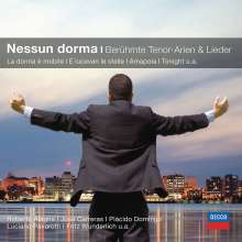 Nessun Dorma - Berühmte Tenor-Arien & Lieder, CD