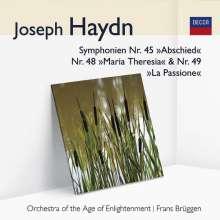 Joseph Haydn (1732-1809): Symphonien Nr.45,48,49, CD