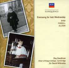 King's College Choir - Evensong for Ash Wednesday, CD