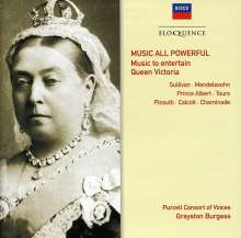 Purcell Consort of Voices - Music All Powerfull (Music to entertain Queen Victoria), CD