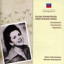 Galina Vishnevskaya sings Russian Songs, CD