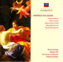 Emma Kirkby & Martyn Hill - Amorous Dialogues, CD