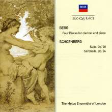 Arnold Schönberg (1874-1951): Suite op.29, CD