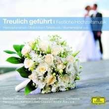 Treulich geführt - Festliche Hocheitsmusik, CD