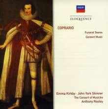 John Coprario (1575-1626): Funeral Teares, CD