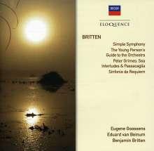 Benjamin Britten (1913-1976): Sinfonia da Requiem op.20, CD