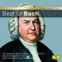 Classical Choice - Best of Bach, CD