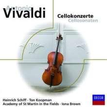 Antonio Vivaldi (1678-1741): Cellokonzerte RV 401,411-413,418,424, CD