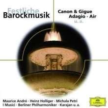 Festliche Barockmusik, CD