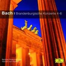 Johann Sebastian Bach (1685-1750): Brandenburgische Konzerte Nr.4-6, CD