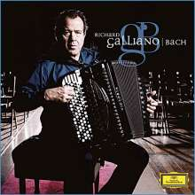 Richard Galliano - Bach on a Accordion, CD
