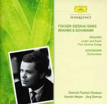 Dietrich Fischer-Dieskau singt Brahms & Schumann, 2 CDs