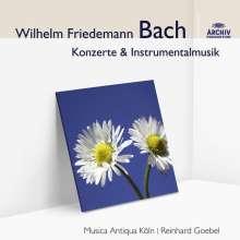 Wilhelm Friedemann Bach (1710-1784): Konzert für 2 Cembali Es-Dur F.46, CD