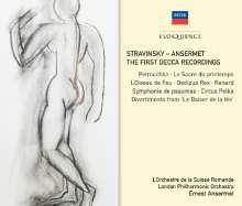 Igor Strawinsky (1882-1971): Ernest Ansermet dirigiert Strawinsky, 4 CDs