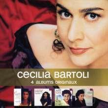Cecilia Bartoli: 4 Albums Originaux, 4 CDs