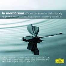 In Memoriam - Für Zeiten der Trauer & Erinnerung, CD
