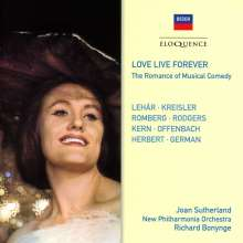Joan Sutherland - Love Live Forever (The Romance of Musical Comedy), 2 CDs