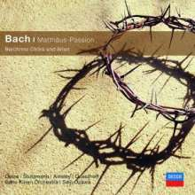 Johann Sebastian Bach (1685-1750): Matthäus-Passion BWV 244 (Ausz.), CD