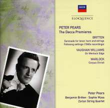 Peter Pears - The Decca Premieres, CD