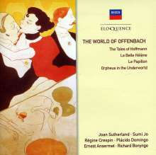 Jacques Offenbach (1819-1880): The World of Offenbach, CD