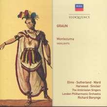Carl Heinrich Graun (1703-1759): Montezuma, CD