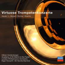 Hakan Hardenberger - Virtuose Trompetenkonzerte, CD