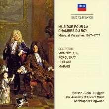 Musique Pour La Chambre Du Roy - Musik aus Versailles 1697-1747, 2 CDs