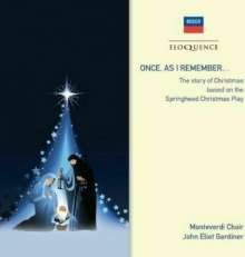 Monteverdi-Choir - Once as I remember, CD