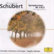 Franz Schubert (1797-1828): Symphonien Nr.4 & 5, CD