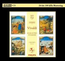 "Antonio Vivaldi (1678-1741): Concerti op.8 Nr.1-4 ""4 Jahreszeiten"" (K2HD), CD"
