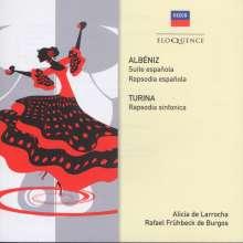 Isaac Albeniz (1860-1909): Suite Espanola, CD