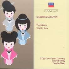 Arthur Sullivan (1842-1900): The Mikado, 2 CDs
