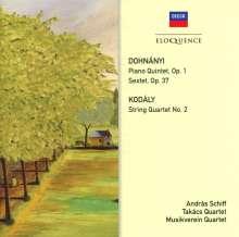 Ernst von Dohnanyi (1877-1960): Klavierquintett Nr.1 c-moll op.1, CD