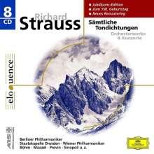 Richard Strauss (1864-1949): Sämtliche Tondichtungen, 8 CDs