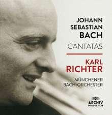 Johann Sebastian Bach (1685-1750): Karl Richter dirigiert Bach-Kantaten, 26 CDs