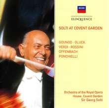 Georg Solti  - Solti At Covent Garden, CD