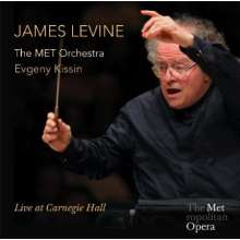James Levine & the MET Orchestra - Live at Carnegie Hall, 2 CDs
