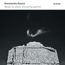 Konstantia Gourzi (geb. 1962): Music for Piano and Stringquartet, CD