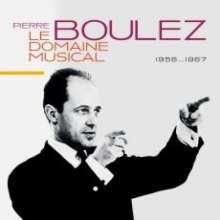 Pierre Boulez - Le Domain Musical 1956-1967, 10 CDs
