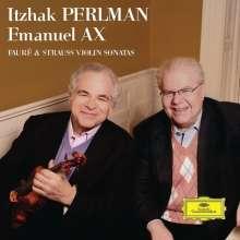 Itzhak Perlman - Faure & Strauss Violin Sonatas, CD