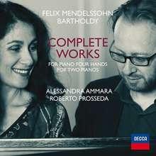 Felix Mendelssohn Bartholdy (1809-1847): Sämtliche Werke für Klavier 4-händig / für 2 Klaviere, CD