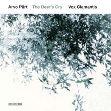"Arvo Pärt (geb. 1935): Geistliche Chorwerke ""The Deer's Cry"", CD"